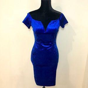 Royal Velvet Dress!
